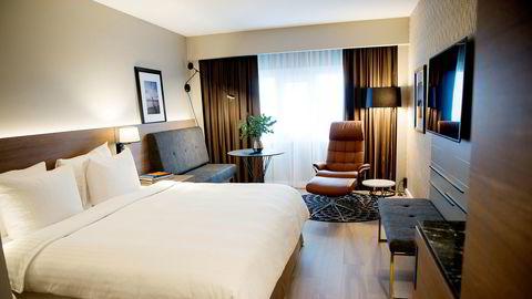Oslo-hotellene går en tung sommer i møte, Her fra  Radisson Blu Plaza Hotell i hovedstaden.