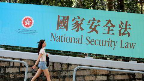 Innføringen av den nye sikkerhetsloven for Hongkong skaper bekymring i Storbritannia.