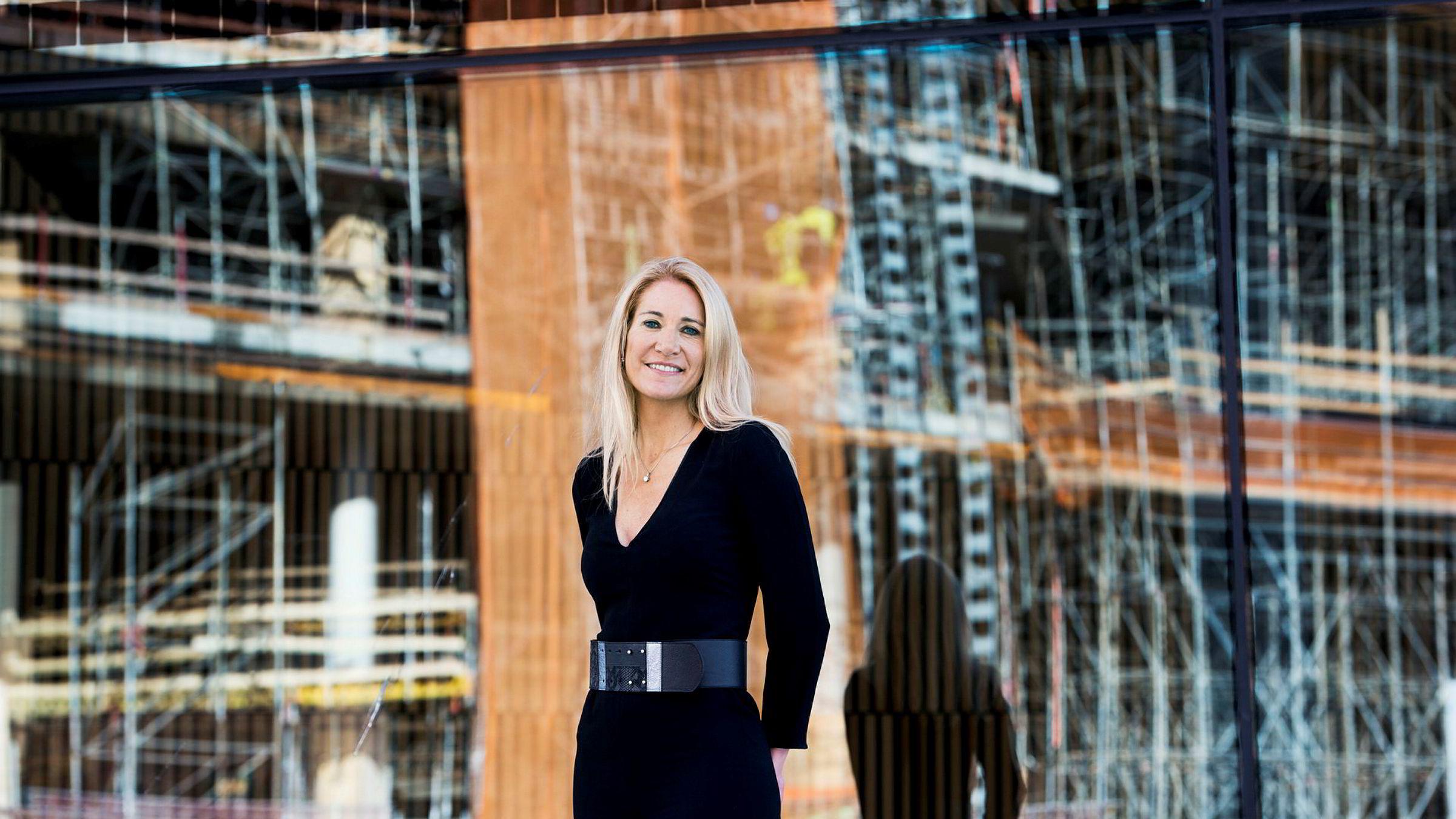 Julie Brodtkorb skal lede Kringkastingsrådet de tre neste årene.