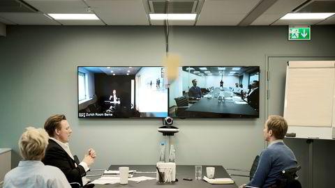 Bruk chatten som ordstyrer, er ett av rådene Iselin Pettersen gir for digitale møter.