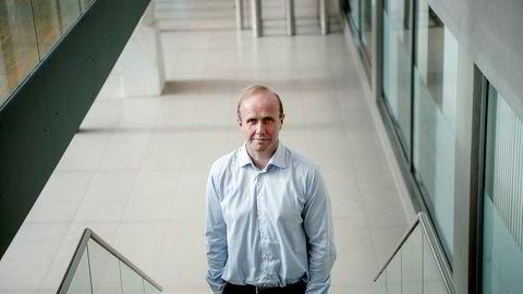 Porteføljeforvalter Hans Thrane Nielsen i Storebrand mener det er lite sannsynlig at børsfallet er over allerede nå.