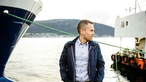 Terje-André Hansen er daglig leder for kystrederiet Båragutt i Tromsø, årets gasellevinner i Troms.