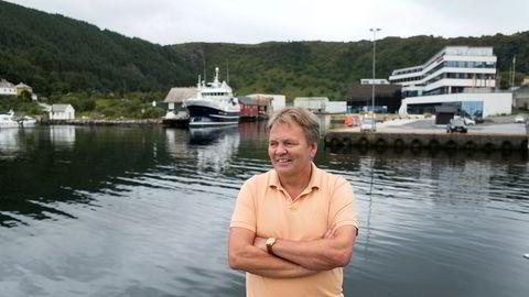 Hovedeier Stig Remøy i Rimfrost melder at selskapet vil kjøpe mer miljøvennlige krillfiskefartøy. Her avbildet i 2016.