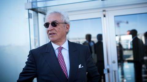 Bijan Mossavar-Rahmani, styreformann og største eier i DNO.