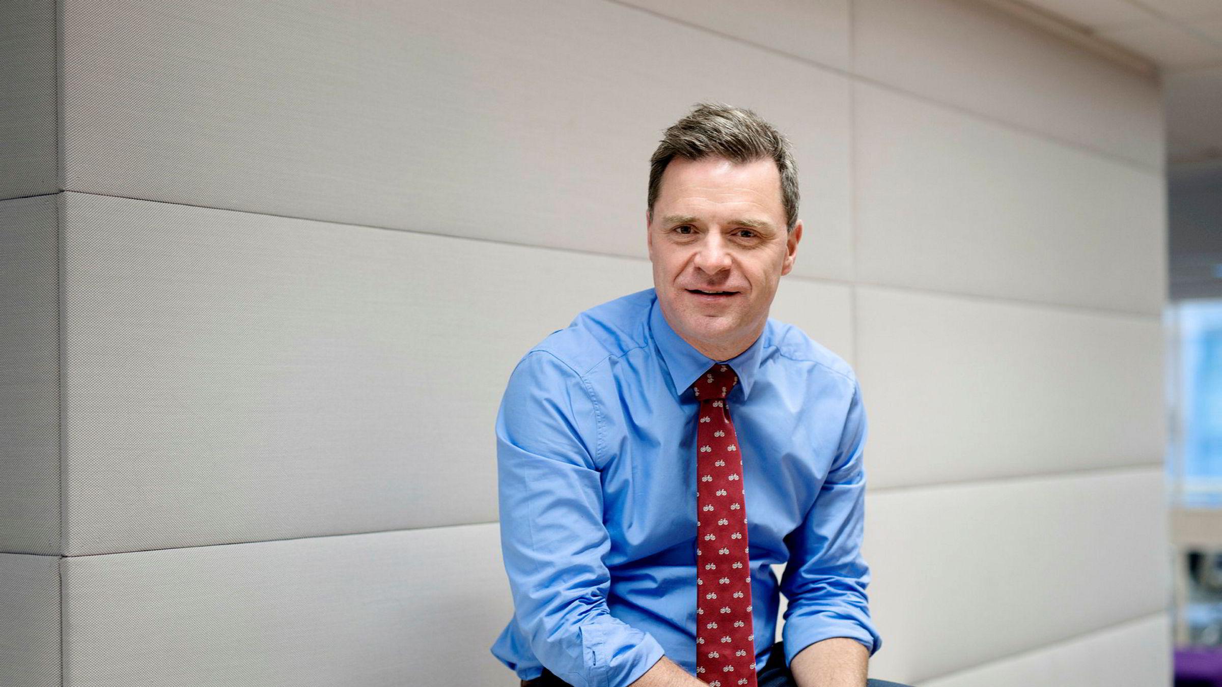 Espen Egil Hansen har vært sjefredaktør i Aftenposten siden 2013. Nå er han ferdig i stillingen.