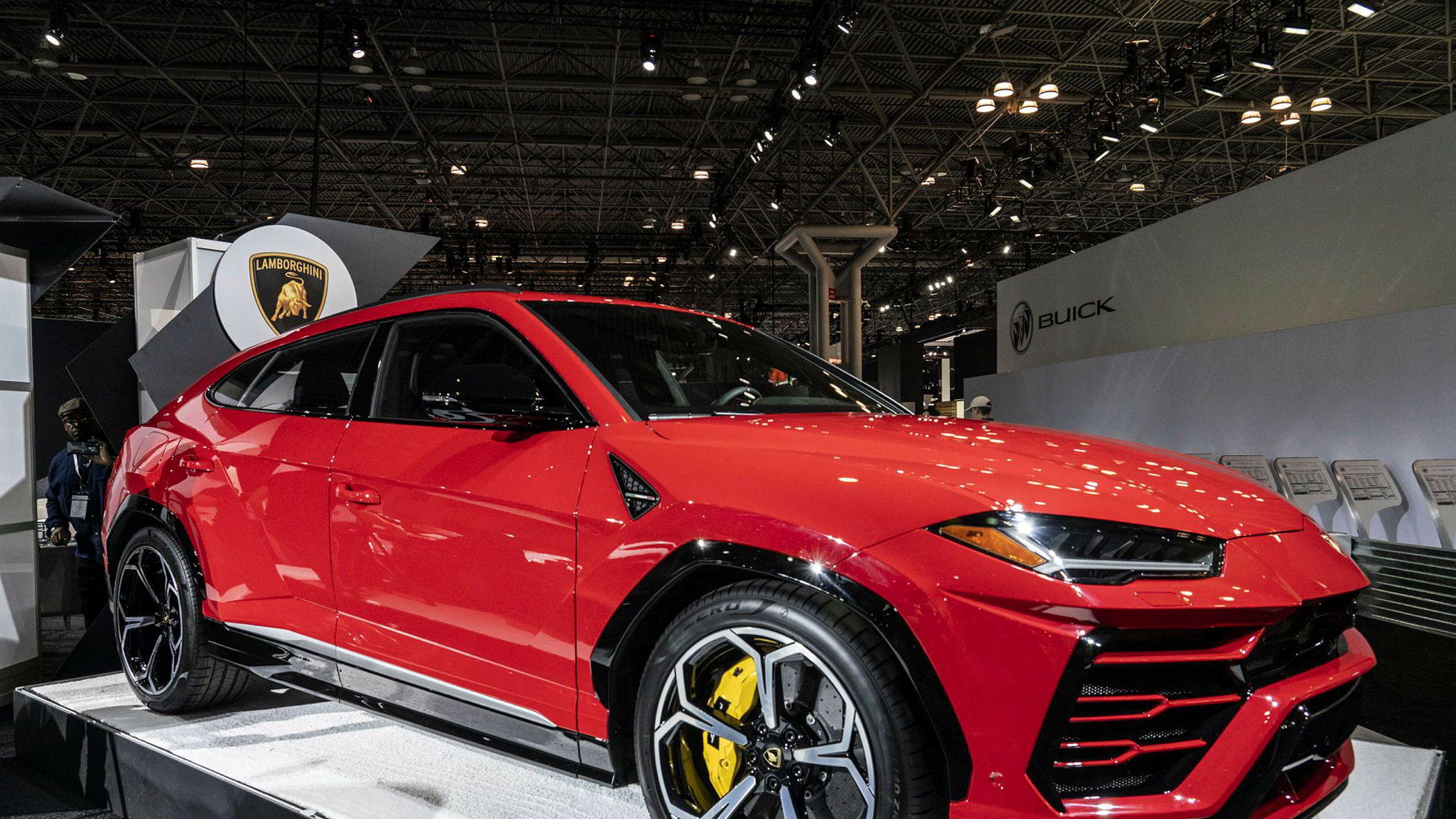 Lamborghini S.p.A. Urus.