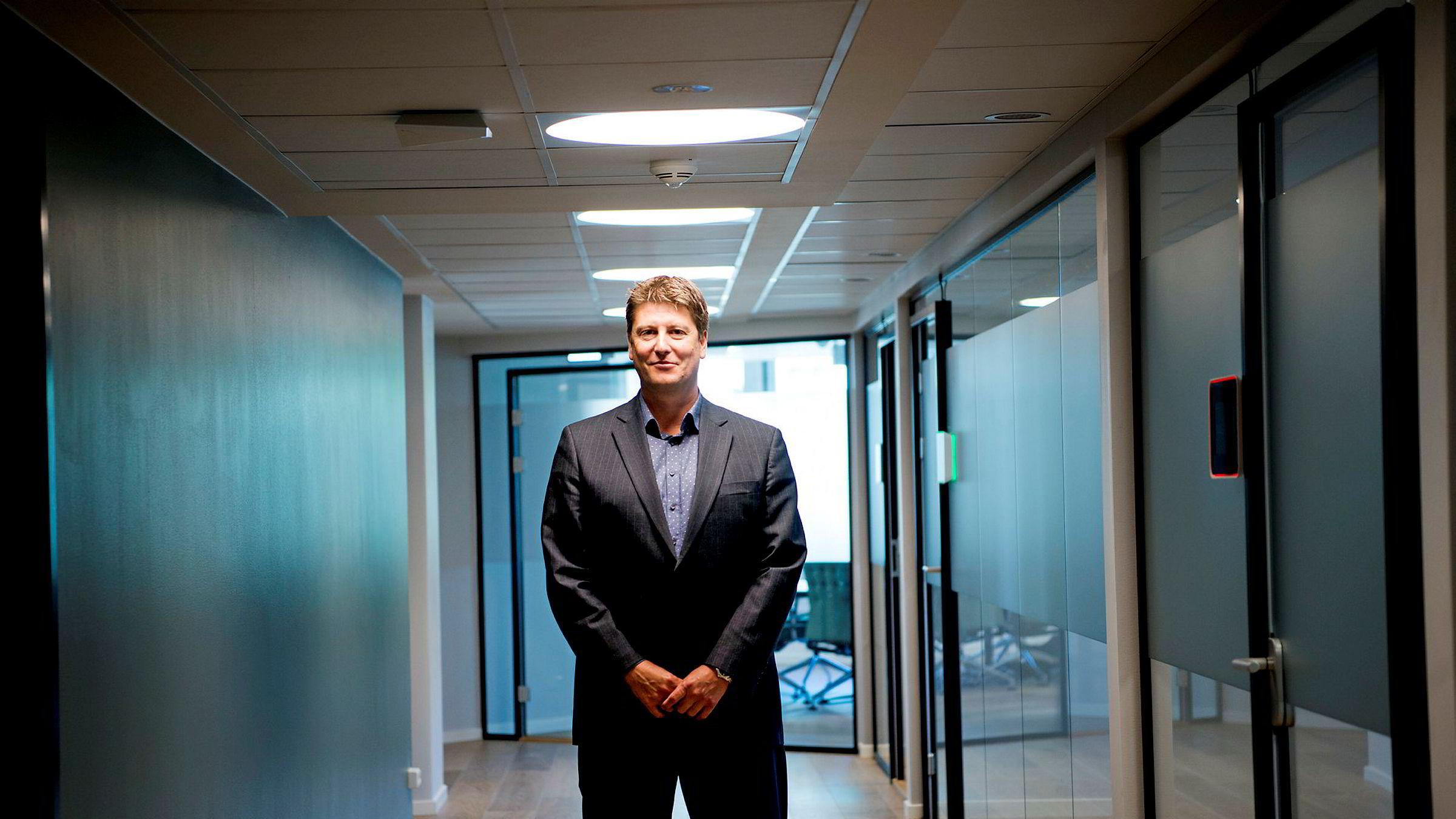 Partner og rådgiver Håkon Borud i First House er en av flere i kommunikasjonsbyrået som hjelper Samherji i Wikileaks-saken. - Vi hjelper dem med koordinering, sier Borud.