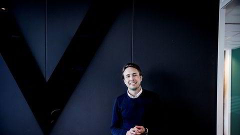 Byråleder Herman Mueller Stormyr i We Are Live, det unge kommunikasjonsbyrået som omsatte for nesten 70 millioner kroner i 2017.