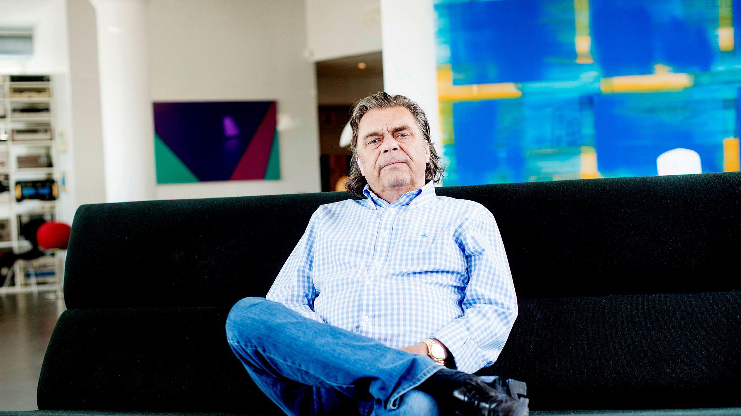 Erling Neby har tapt over halvparten av papirverdien på porteføljen sin. Hadde han hatt likviditeten til det ville han likevel kjøpt mer aksjer.