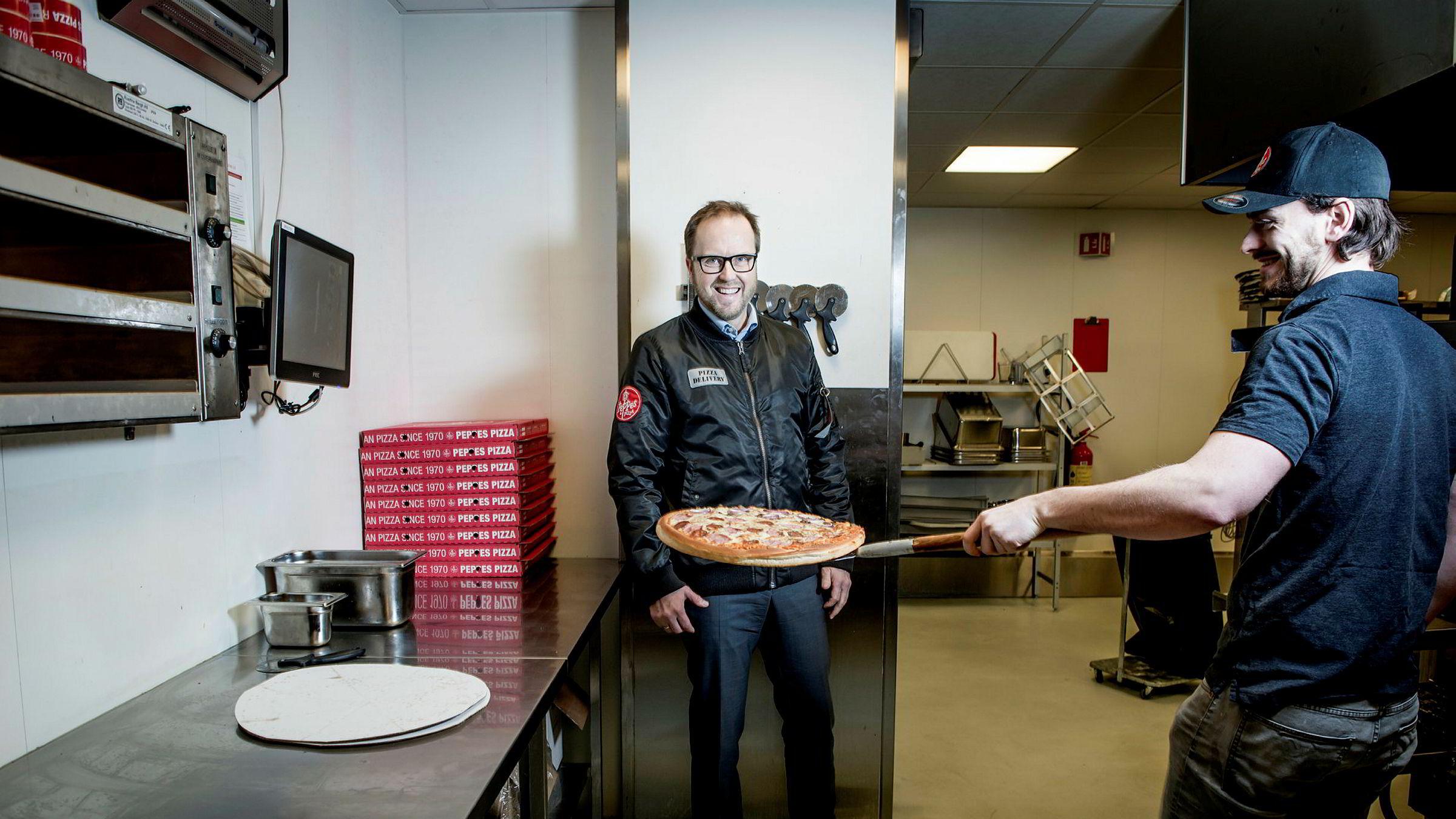 Peppes-sjef Espen Hoff er klar for å åpne 50 nye take-away-restauranter.