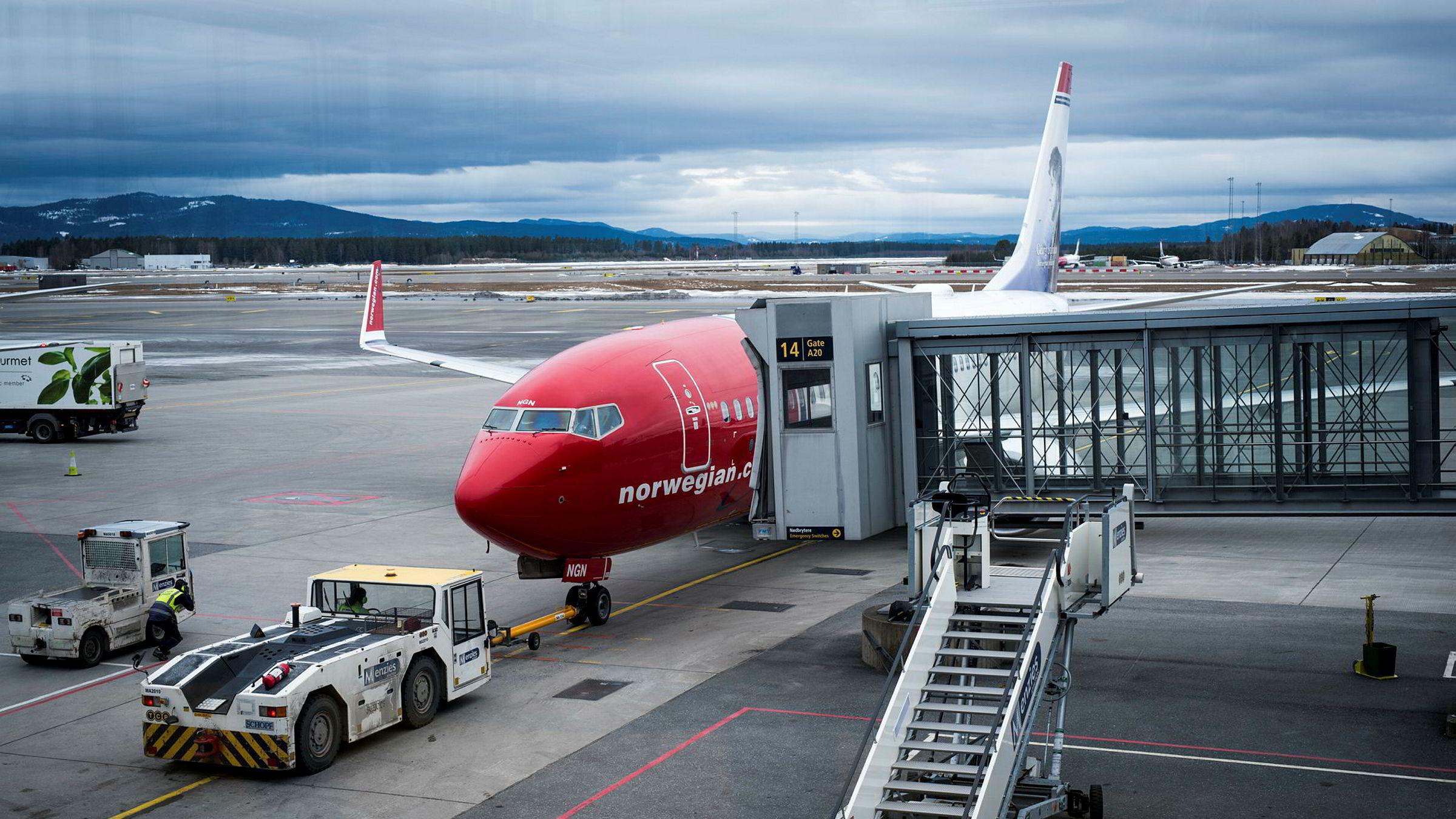 Norwegian er blant de fem selskapene som har opplevd største omdømmefall siste år.