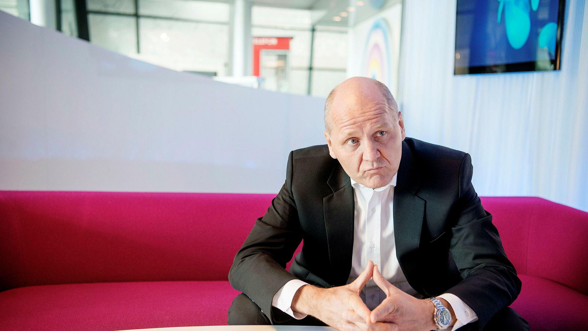 Konsernsjef Sigve Brekke i Telenor er uenig i kravet fra de indiske myndighetene.