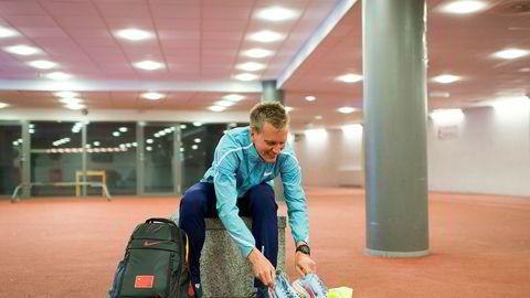 Ingen europeer har noensinne løpt maraton raskere enn Sondre Nordstad Moen (26).