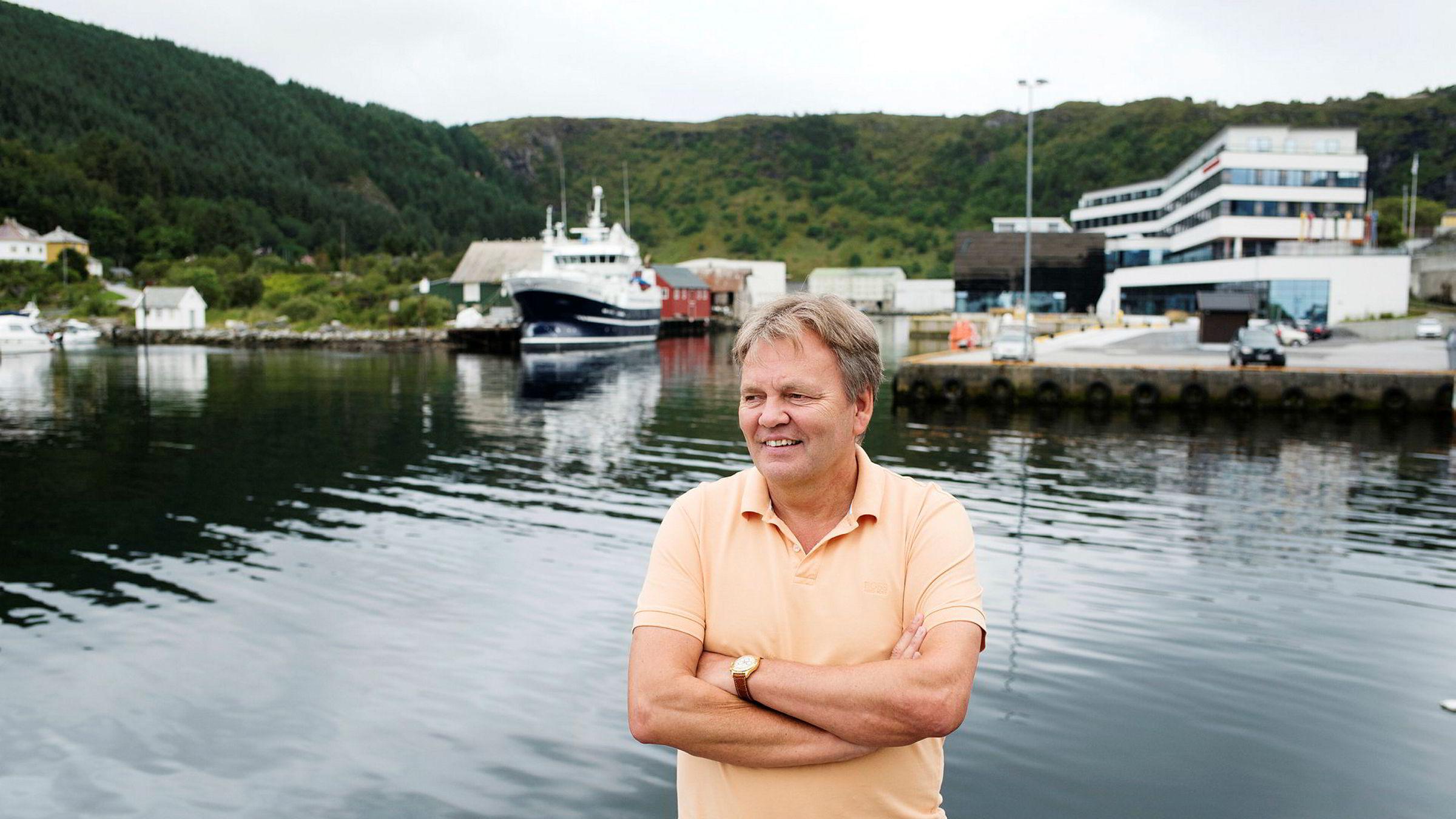 Stig Remøy, administrerende direktør i Olympic Subsea, tror det verste er over for offshorerederiene.
