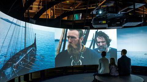 The Viking Planet i Oslo bruker virtual reality (VR), spillefilmer og andre interaktive virkemidler.