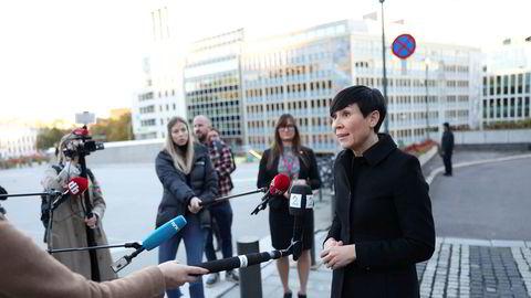 Utenriksminister Ine Eriksen Søreide har protestert kraftig mot at Russland ifølge norske myndigheter har stått bak et datainnbruddet mot Stortinget.