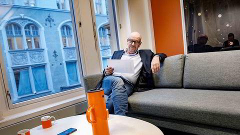 Try-sjef Kjetil Try er godt fornøyd med halvårsresultatet.