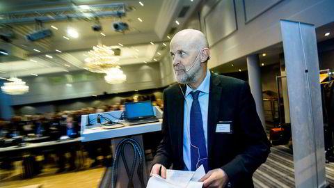 Finanstilsynet, her ved Morten Balterzen, har gitt Tide forsikring to måneder på å hjelpe eksisterende kunder. Alt av nysalg derimot, må opphøre.