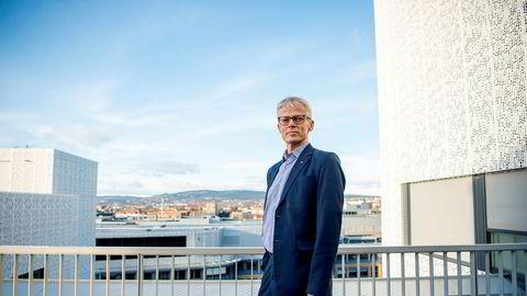 Skattedirektør Hans Christian Holte.