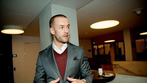Administrerende direktør Andreas Martinussen i Solon Eiendom.