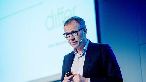 Bård Amundsen i Differ snakket om effekten av å innføre roboter under gasellekonferansen for Akershus og Østfold.