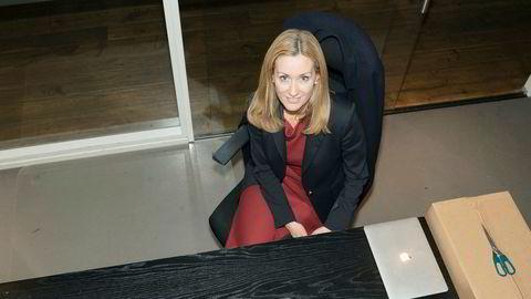 Hedda K. Ulvness, administrerende direktør i Eie Eiendomsmegling, kaller seg selv en «80-prosenter».