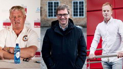 Benn Eidissen, Kristian Adolfsen og Bjørn Dæhlie har alle meldt flytting til Bø i Vesterålen.