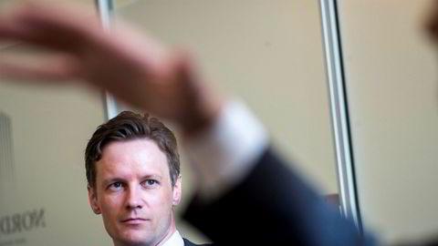 Sjeføkonom Bjørn Roger Wilhelmsen i Nordkinn Asset Management mener det ikke er noen grunn til at kronen skal være så svak, og han tror det blir forbigående.