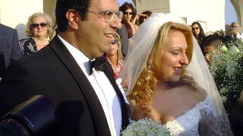 Skipsreder Polys Haji-Ioannou er en av verdens rikeste menn. Likevel finnes det få bilder av greskkyprioten, som i dag bor i Monaco. I det skjulte er han en stor eiendomsinvestor i Norge. Her er han avbildet da han for mange år giftet seg med Rosemarie Zoudrou.