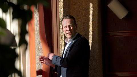Jaan Ivar Semlitsch er konsernsjef i Orkla. Han vil ikke kommentere konkrete ekspansjonsplaner, men sier til DN at Norge er et interessant marked.