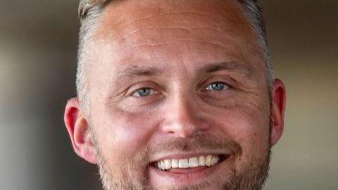 Programleder og reporter Jon Hartvig Børrestad i TV 2.