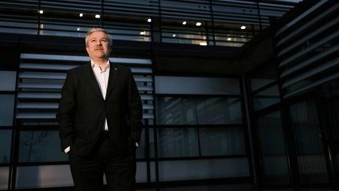 Pål Eitrheim, sjef for fornybar i Equinor i selskapets hovedkontor på Forus utenfor Stavanger.