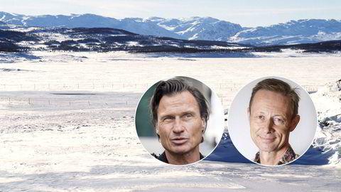 Petter Stordalen har solgt 13.000 dekar på Hardangervidda til vinimportør Christopher Moestue. Bildet er fra området ved Møsvatn i Tinn kommune.