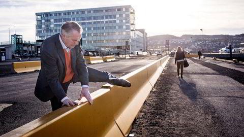 Gustav Witzøe er konsernsjef, grunnlegger og hovedeier i Salmar. Dette bildet er fra 2014.