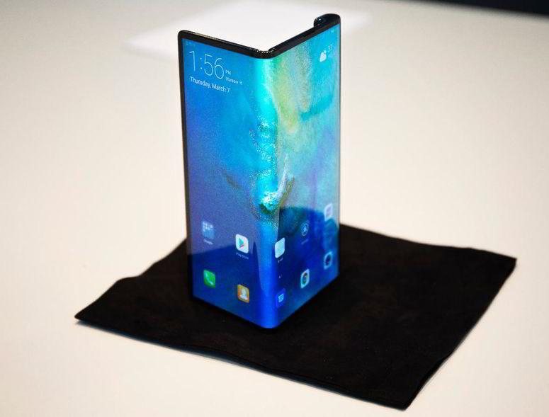 Huawei utsetter lanseringen av sin brettbare mobiltelefon
