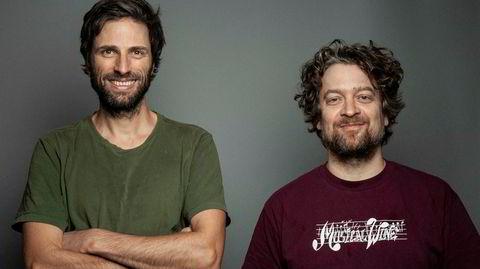 Skjeggete høykultur fra Lindstrøm (til venstre) og Prins Thomas, som jobber hardt og rolig på deres første plate sammen på elleve år.
