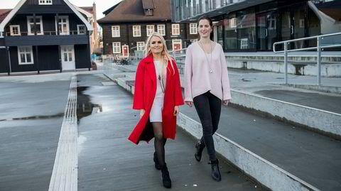 Isabelle Ringnes og Marie Louise Sunde står bak kampanjen Hun spanderer.