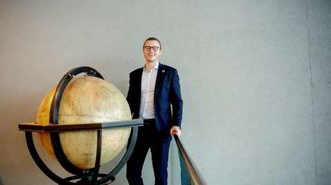 Nyansatt bærekraftssjef Marcus Bruns (26) er nominert i D2s kåring av ledestjerner under 30 år som jobber mot FNs bærekraftsmål.