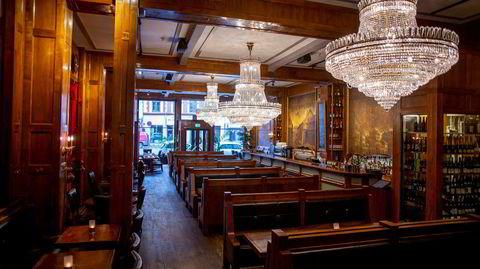 Det er lett å tro at Lompa alltid har sett ut slik som i dag, men i 1950-årene var restauranten innredet i lys, stram og tidsriktig stil.
