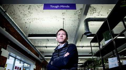 Gründer Erik Nygård vil revolusjonere kraftindustrien ved å bruke stordata og kunstig intelligens.