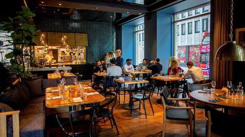 Atlas Brasserie ligger i det nye hotellet Amerikalinjen på Jernbanetorget.