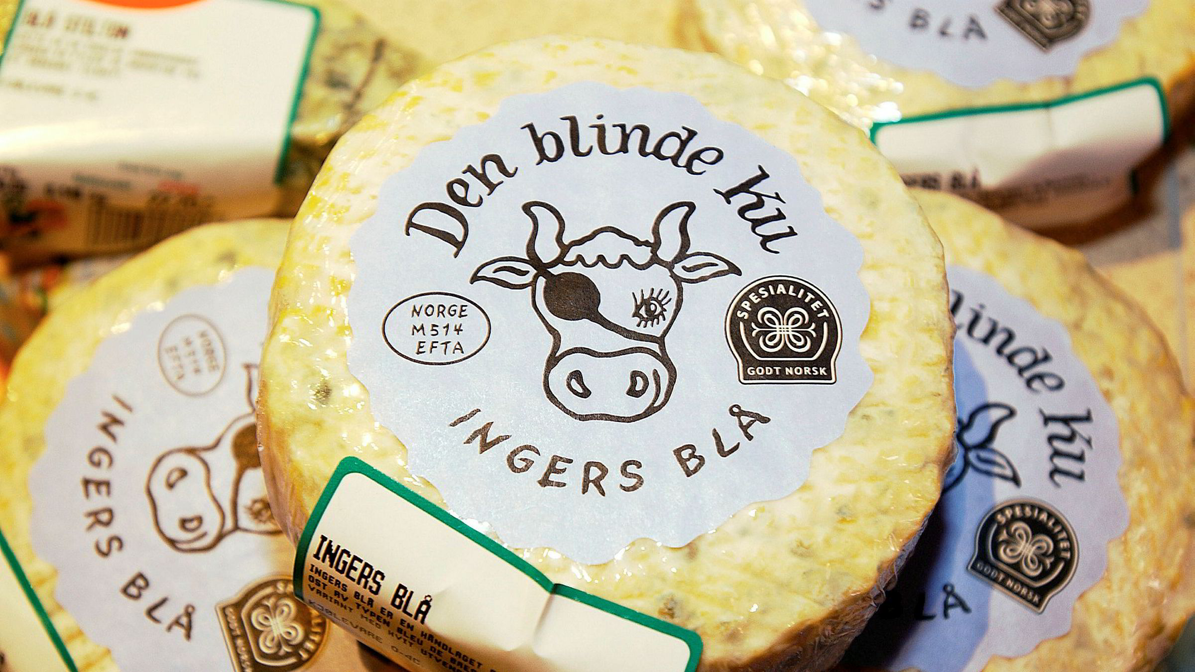 Osteprodusenten Den Blinde Ku har vunnet mange priser for sine oster.