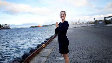 Elbiler kan fint lades om natten, skriver Cecilie Bjelland, her fra tiden som Ap-politiker i Stavanger.
