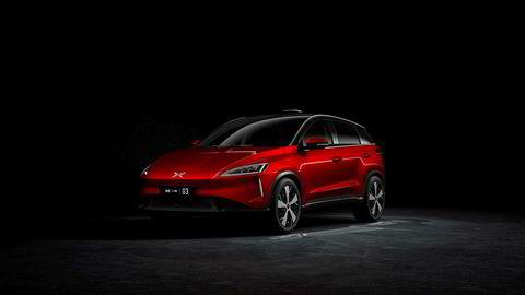 Med en lengde på 445 centimeter går Xpeng G3 rett inn i kompaktsuvsegmentet med en størrelse omtrent som en Volkswagen Tiguan.