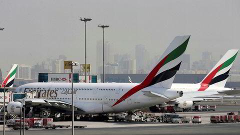 Emirates Airlines-fly nektes nå å lande i Tunisia.