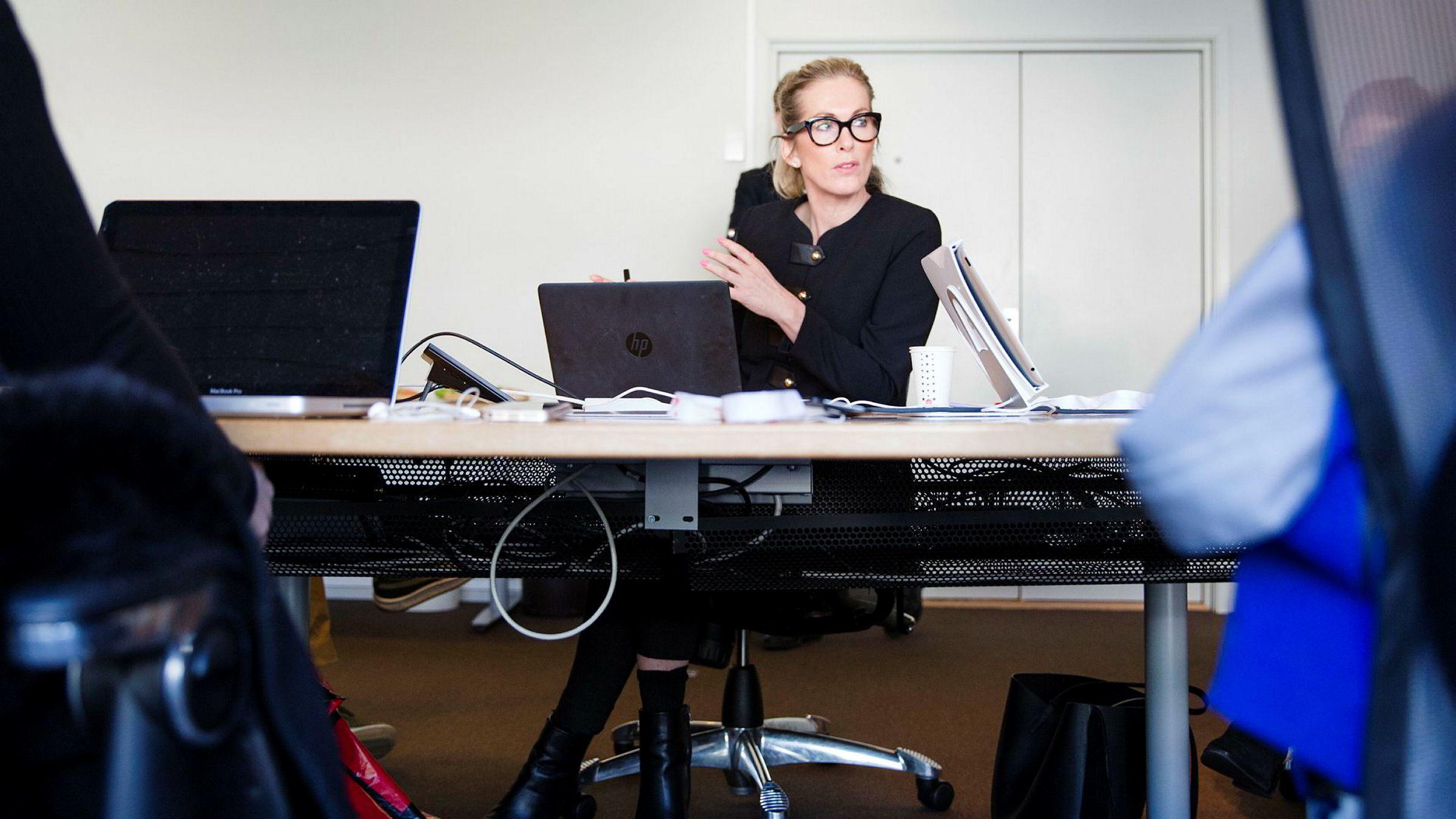 Anita Krohn Traaseth og Innovasjon Norge etterlyste spørsmål om trakassering da de fikk se undersøkelsen.