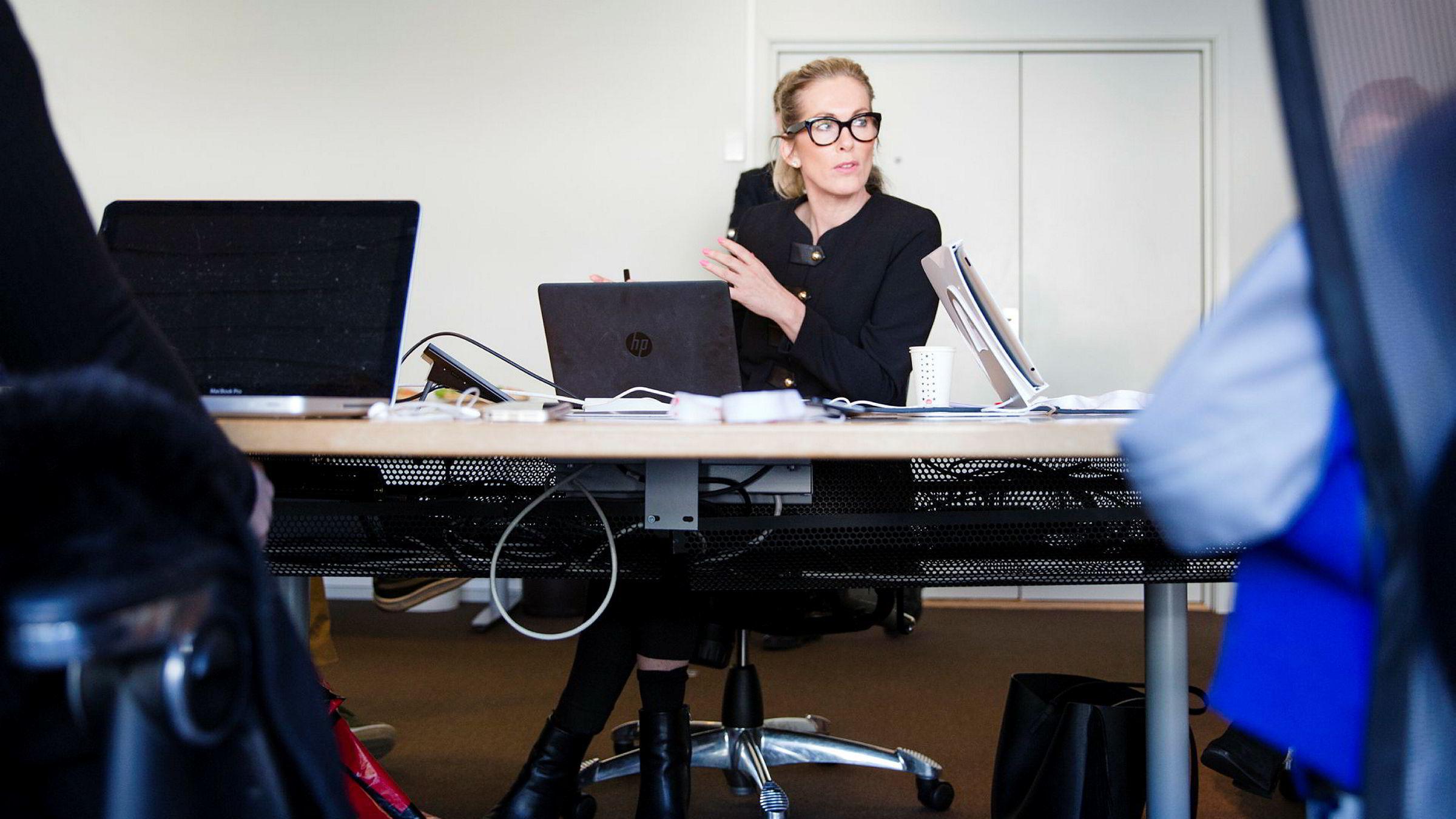 Direktør Anita Krohn Traaseth i Innovasjon Norge er igjen i søkelyset. Foto: Per Thrana