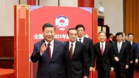 Kinas president Xi Jinping har aldri vært mektigere. Nå forsøker han å samle hele landet bak strategier og planer for de neste 30 årene.