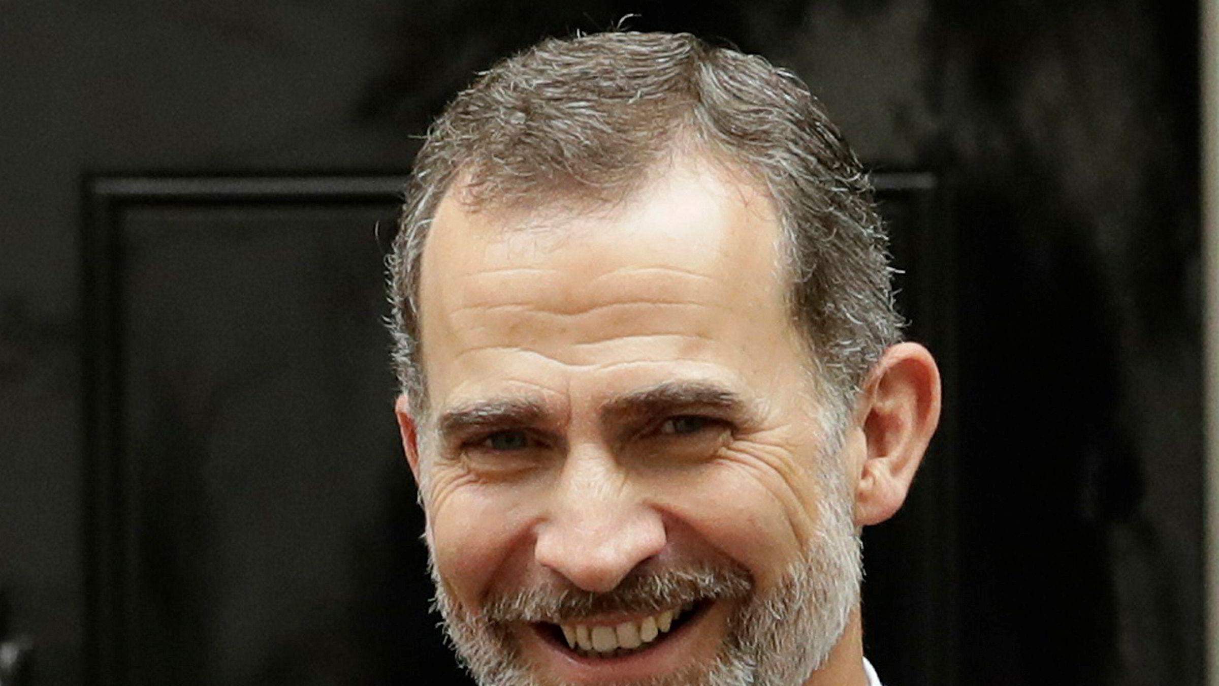 Kong Felipe ber katalanerne unngå splittelse.