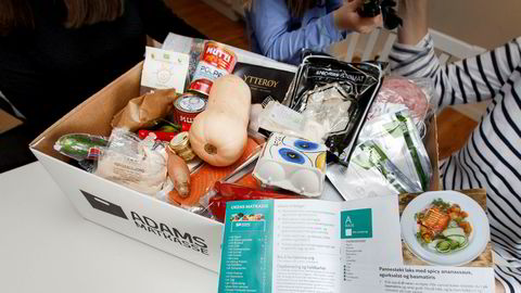 Matkasser gir et utvalg måltider som kan bestilles via en app eller på nettstedet, og kommer levert på døren med ingredienser og oppskrifter.